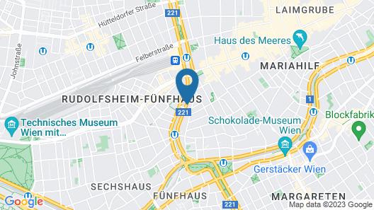 ibis Wien Mariahilf Map