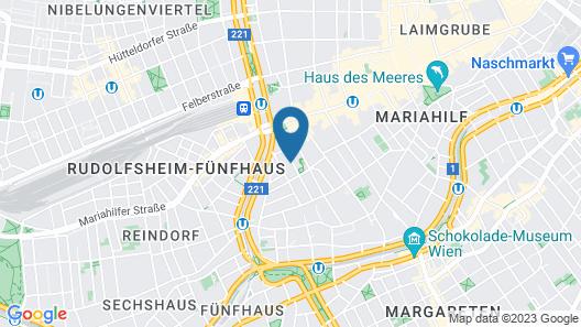 myNext - Westbahnhof Hostel One Map