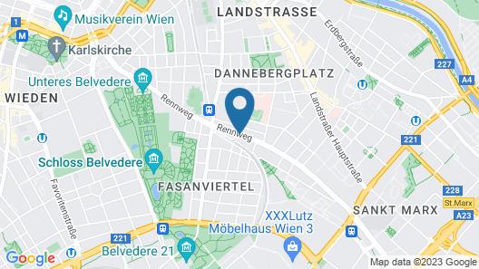 Arthotel ANA Enzian Map
