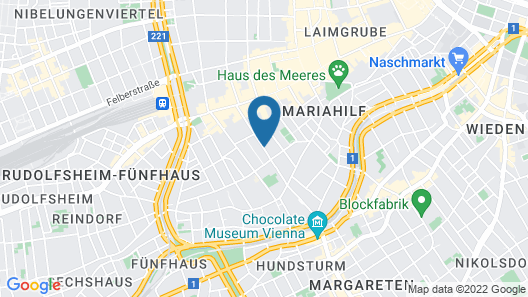 Arthotel ANA Boutique Six Map