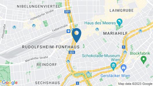 Leonardo Hotel Vienna Map