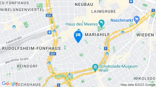 Austria Trend Hotel Anatol Map
