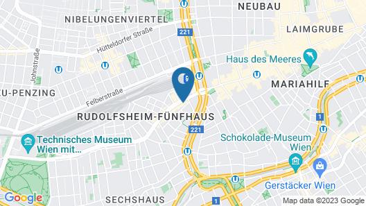 wombat's CITY HOSTELS VIENNA - The Lounge Map