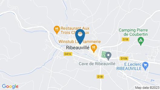 Hotel de la Tour Map