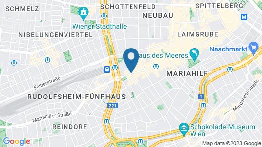 Ruby Marie Hotel Vienna Map