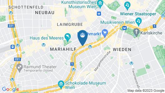 My City Apartments am Naschmarkt Map