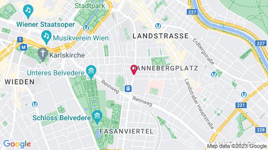 Imperial Riding School Renaissance Vienna Hotel Map