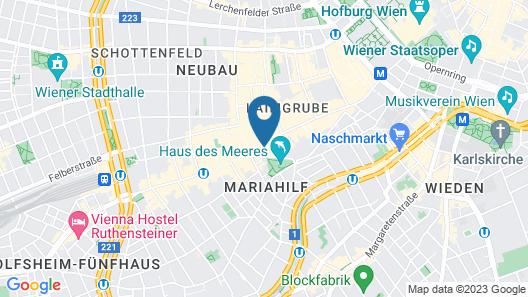 Exquisit Wien Map