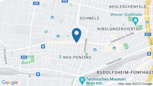 CheckVienna - Hütteldorferstraße Map
