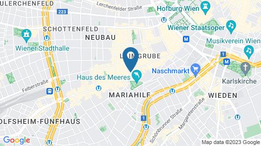 Hotel Schani Salon Map