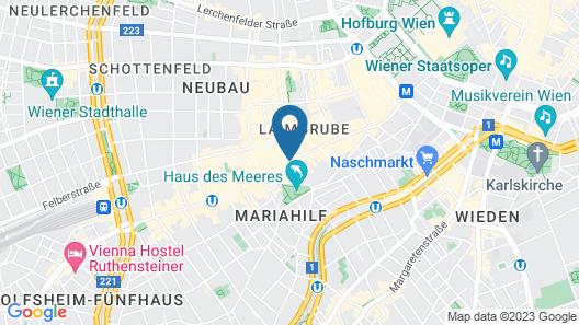 Hotel Haydn Map