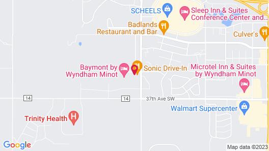 Baymont by Wyndham Minot Map