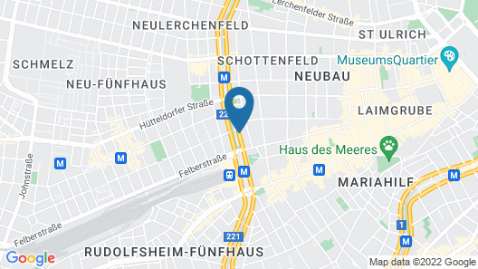 Fleming's Conference Hotel Wien Map