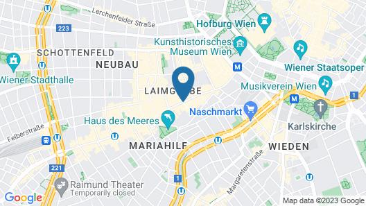 NH Wien City Map