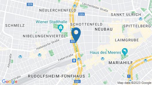 ARCOTEL Wimberger Vienna Map