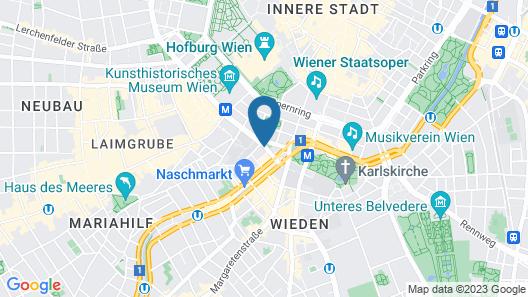 Hotel Mercure Secession Wien Map