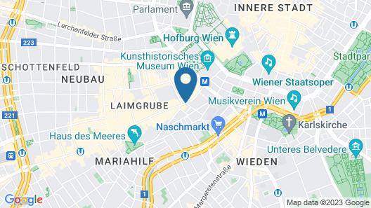 Hotel Das Tyrol Map