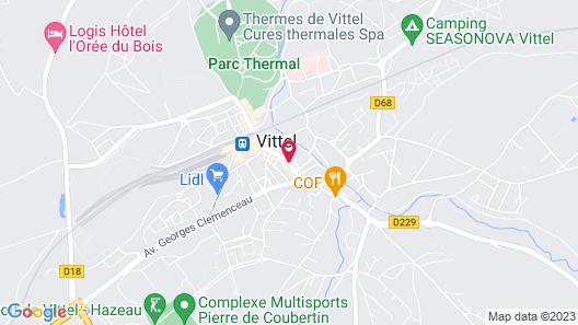 Les Appartements de Louis Map