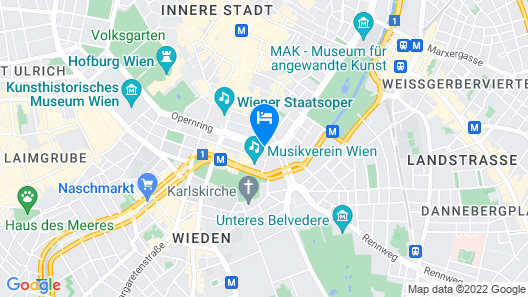 Hotel Imperial, a Luxury Collection Hotel, Vienna Map