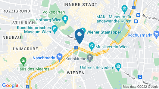 Living Hotel an der Oper Map