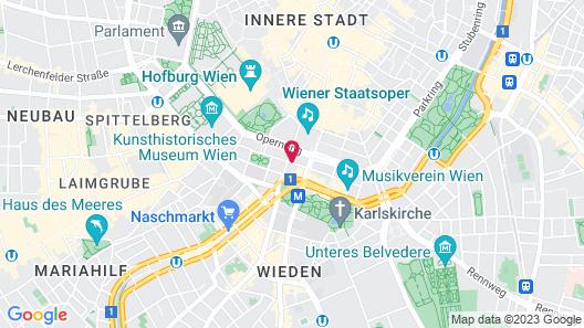 Motel One Wien-Staatsoper Map