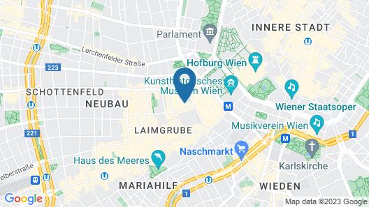 K+K Hotel Maria Theresia Map