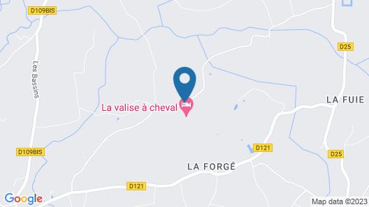 La Valise à Cheval Map