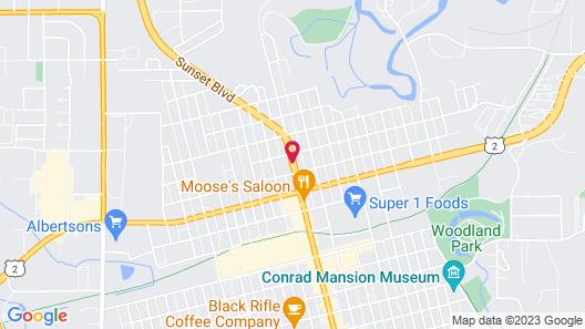Travelodge by Wyndham Kalispell Map