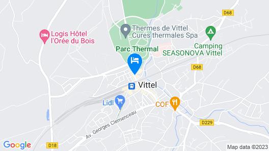 Mercure Vittel Map
