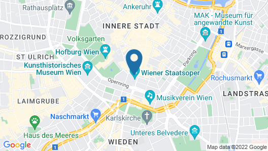 Hotel Sacher Wien Map