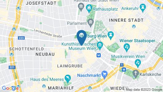 Sans Souci Vienna Map