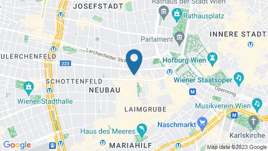 Small Luxury Hotel Altstadt Vienna Map