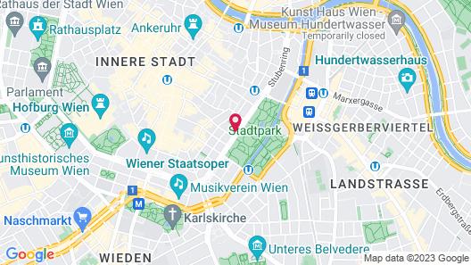 Vienna Marriott Hotel Map