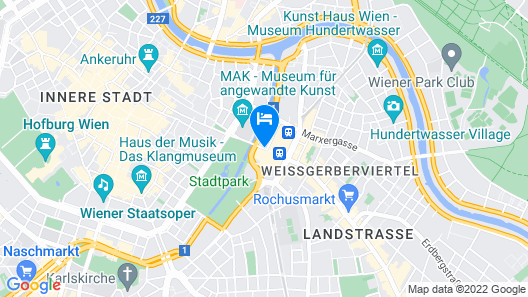Hilton Vienna Park Map
