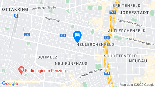 CheckVienna – Apartment Haberlgasse Map