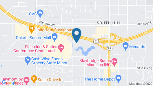 Wingate by Wyndham Minot Map