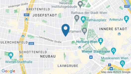 Hotel Rathaus Wein & Design Map