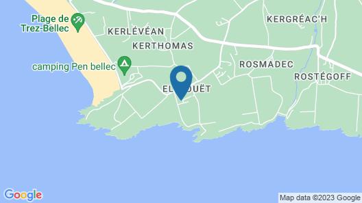 Beautiful sea View - Contemporary House - Crozon - Sea View Map