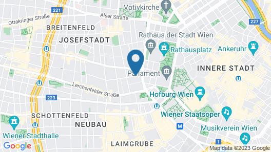 Hotel Josefshof am Rathaus Map