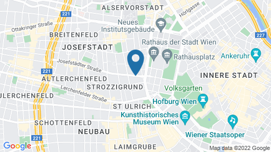 Fleming's Selection Hotel Wien-City Map