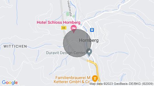 2 Bedroom Accommodation in Hornberg Map