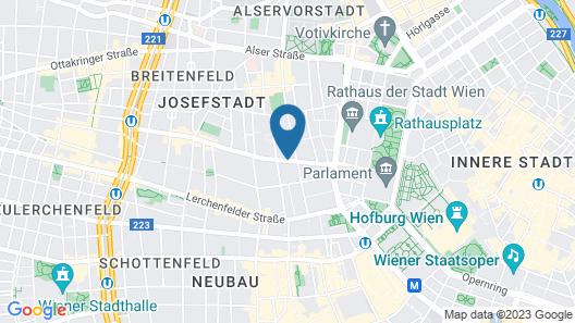 Theaterhotel & Suites Wien Map