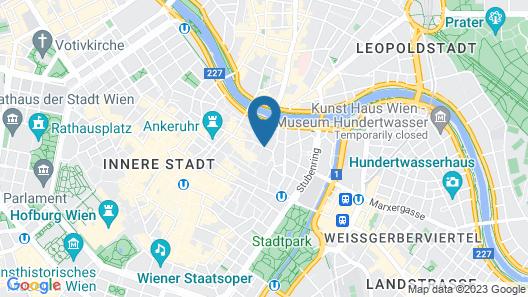Hotel Post Map