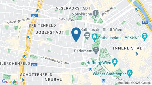 Hotel Alpha Map