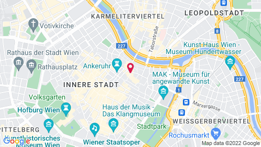 Hollmann Beletage Design & Boutique Hotel Map