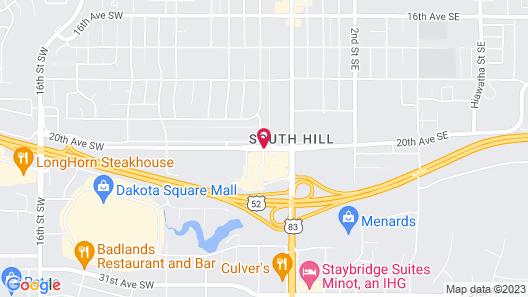 Days Inn by Wyndham Minot Map