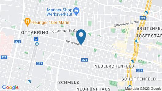 Limehome Wien Thaliastraße Deluxe Map