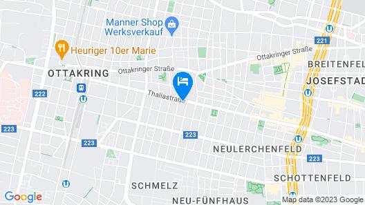Deluxe Apartments Vienna Thaliastraße Map