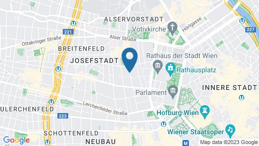 Hotel Zipser Map