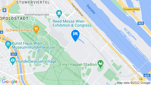 Green Prater Apartments Map